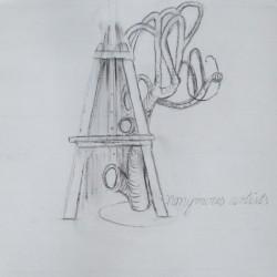 Ulrike Eleonore Grießmayr Zeichnung 001